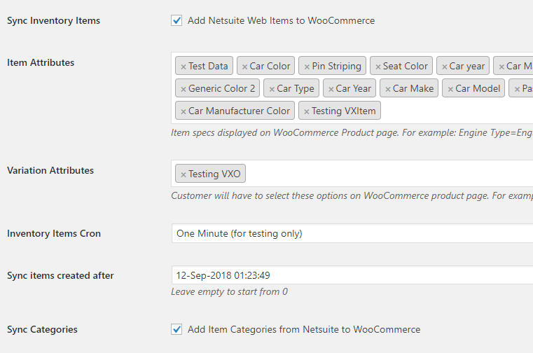 Woocommerce Netsuite Plugin